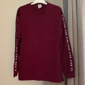 PINK Victoria's Secret Long Sleeve Tee